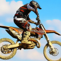 Dirtbike Racing Stunts