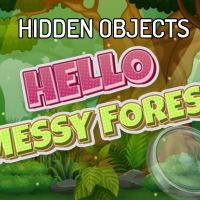 Hidden Objects Hello Messy Forest