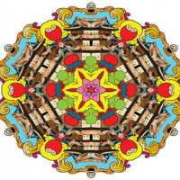 Mandala coloring book for adults and kids Online