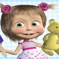Masha and the Bear: House Cleaning Online