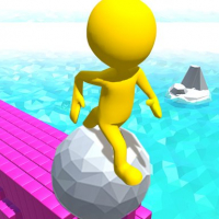 Roll Run 3D - Tap to roll Online