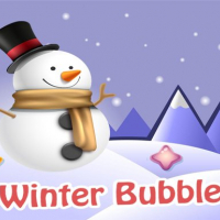 Winter Bubble Game Online
