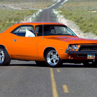 Classic Muscle Cars Jigsaw Puzzle
