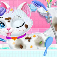 Pet Vet Care Wash Feed Animals - Animal Doctor Fun