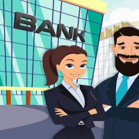 Pretend Play Bank Manager: Town Office Fun Life Online